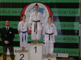 Lisa Tortorella bissa il podio alla WORLD UNITED KARATE ASSOCIATION SPRING CUP - Nippon Piemonte-Shi Hana Dojo